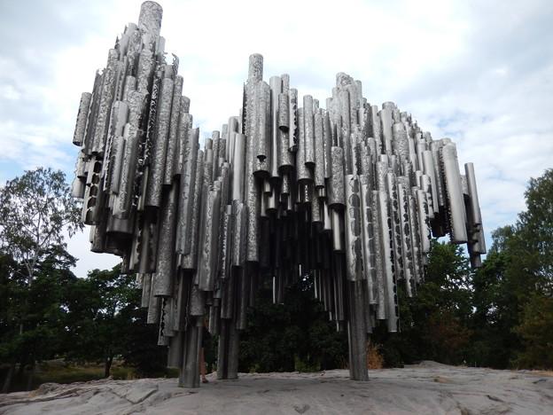 ヘルシンキ シベリウス公園1