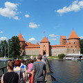 写真: 路地小路Trakai  Lithuania