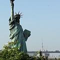 自由の女神とスカイツリー