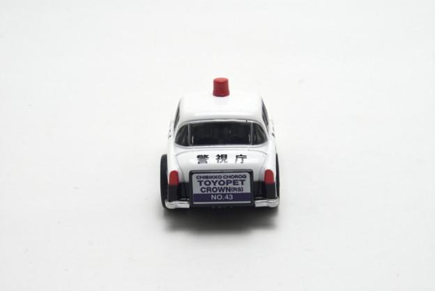 タカラトミー_ちびっこチョロQ No.43 トヨペット クラウン(RS)パトカー_005