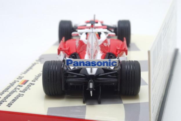 Minichamps _Panasonic Toyota Racing Showcar Fuji Speedway, 30 September 2007 Ralf SCHUMACHER_008