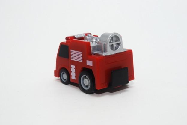 FIRE_FIRE ORIGINAL ミニミニチョロQコレクション 3.排煙電源車_002