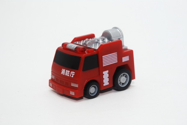 FIRE_FIRE ORIGINAL ミニミニチョロQコレクション 3.排煙電源車_001