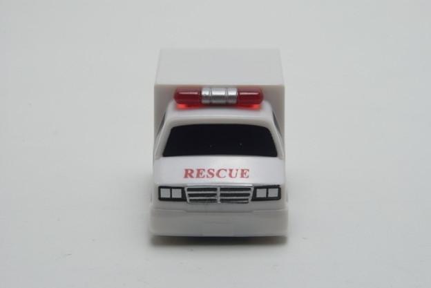 FIRE_FIRE ORIGINAL ミニミニチョロQコレクション 5.大型救急車_004