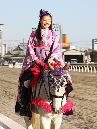 川崎競馬の誘導馬01月開催 和服2Ver-120107-21