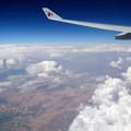Photos: カタール航空129便の窓から ドーハ~ベネチア間 アラビア半島上空
