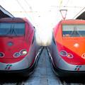 イタリア国鉄の高速列車 フレッチャアロッサESスター