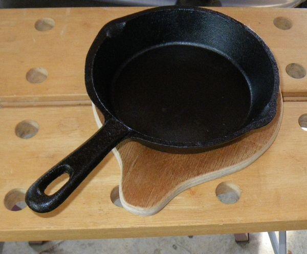 鍋敷き、使用例