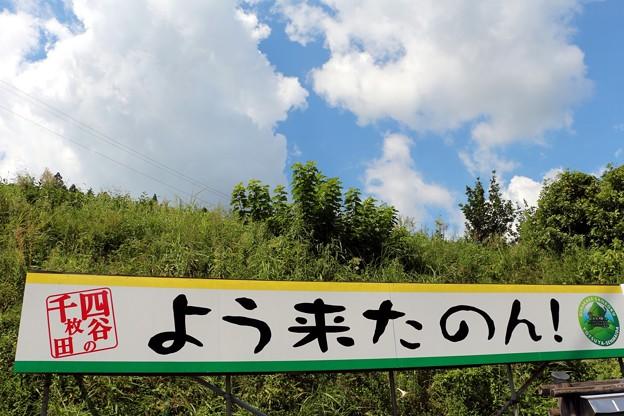 三河弁(よく来られました)