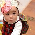 写真: 次女ちゃん1歳
