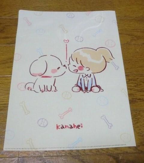 デイリーヤマザキ限定 カナヘイ オリジナル クリアファイル