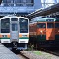 Photos: 211系&115系