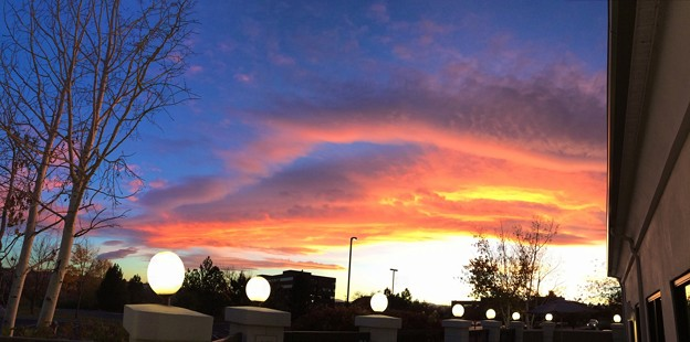 Photos: Sunset time in Denver
