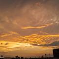 7月20日(月)の夕焼け