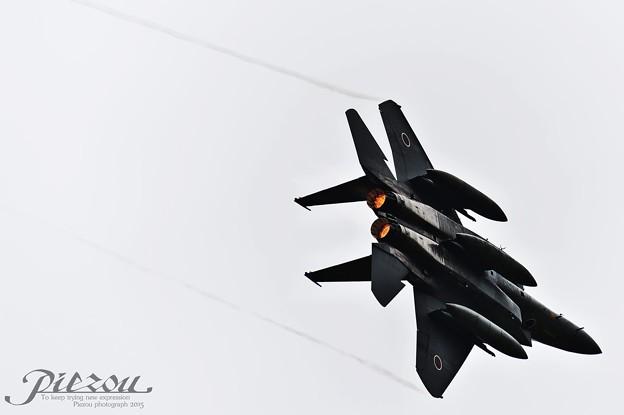 ベイパーその1 F-15 Eagle 第8航空団 機動飛行