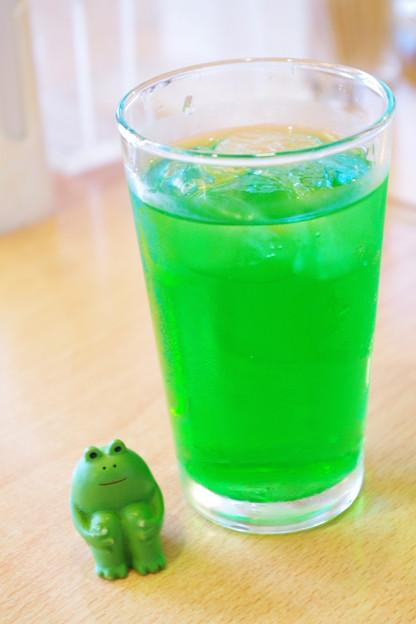カエルとメロンソーダ MOTO3646