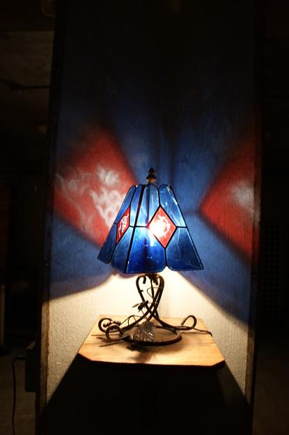 幻想的なランプ