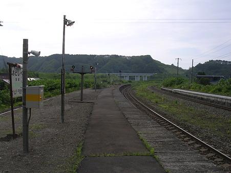 落部駅ホーム2