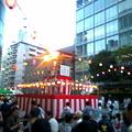 写真: 社の駐車場で盆踊り大会!東京音頭~炭坑節~♪めちゃ楽しい(笑)