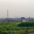 写真: 吉根橋(庄内川)の上から見えた名駅ビル群 - 2