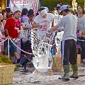 写真: 春日井市民納涼まつり 2015 No - 25:氷の彫刻