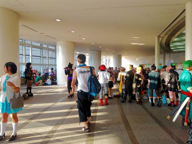 世界コスプレサミット 2015:沢山のコスプレイヤーと見物客で賑わう会場 No - 49
