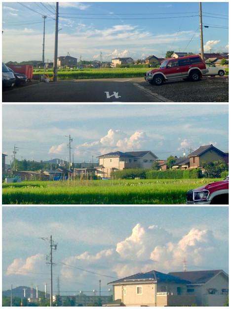 夏を感じる入道雲 - 7