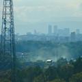写真: リニモから見えた名駅ビル群 - 6