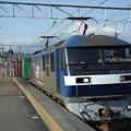 東海道本線富士川駅にて