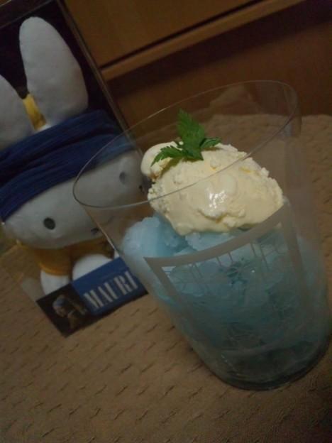写真: @taktwi   ガリガリ君のかき氷を盛り付けてみました(*^.^*)。   #フェルメー...
