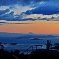 朝熊山から富士展望