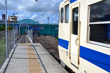 ここが終点(キハ47形)@枕崎駅[8/13]