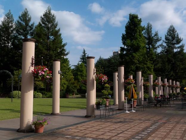 列柱の庭園