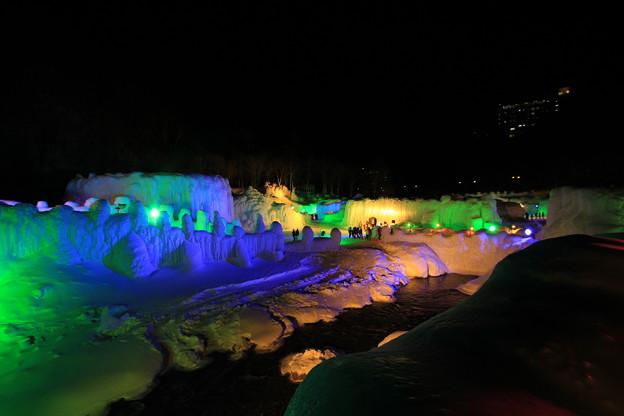 2012年 層雲峡氷瀑祭り1