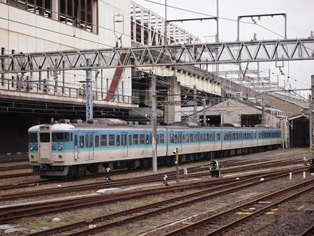 115系信州色 大宮駅