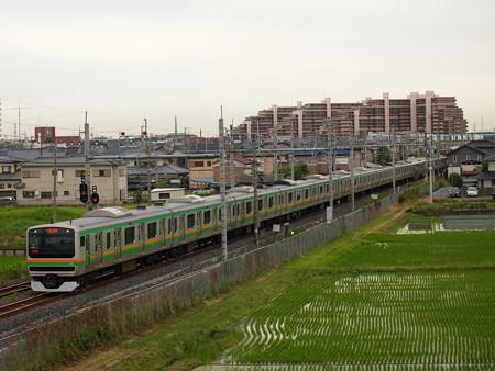E231系普通 東北本線白岡~新白岡04