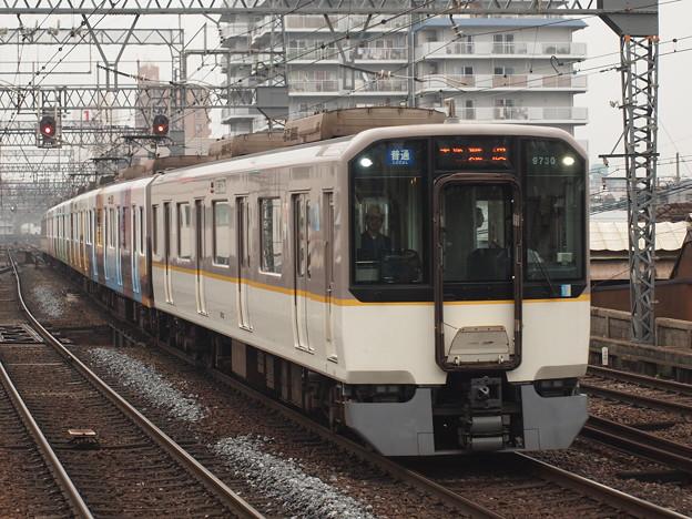 近鉄9820系普通 近鉄奈良線鶴橋駅