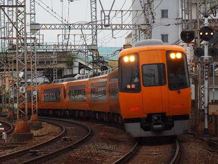 近鉄22000系阪伊乙特急  近鉄大阪線山本~高安01