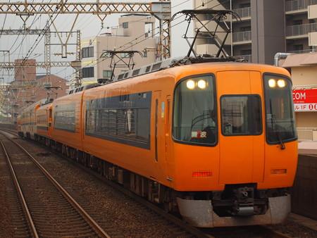 近鉄22000系阪伊乙特急 近鉄大阪線八尾駅