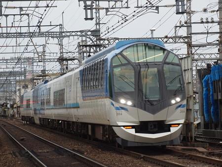 近鉄50000系しまかぜ 近鉄大阪線河内山本~高安
