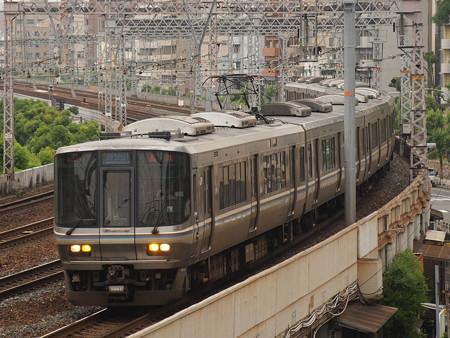 223系新快速  東海道本線神戸~元町04