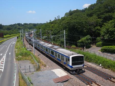 E531系普通常磐線偕楽園~赤塚01