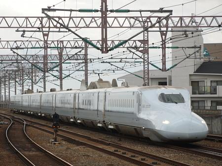 N700系さくら 山陽新幹線西明石駅04
