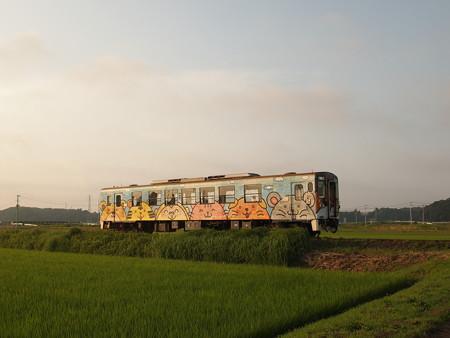 ひたちなか海浜鉄道キハ37100形 湊線中根~高田の鉄橋02
