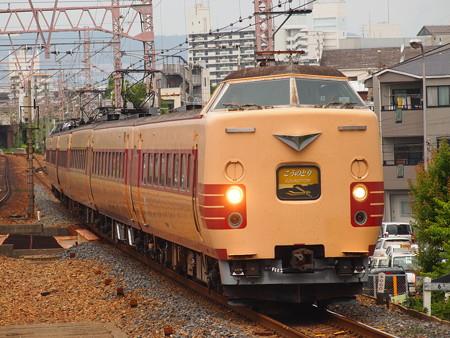 381系特急こうのとり 東海道本線塚本駅