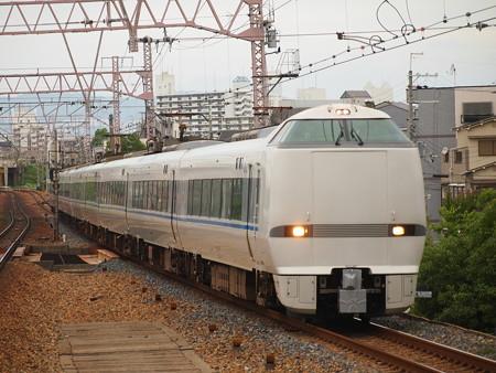 683系サンダーバード回送 東海道本線塚本駅