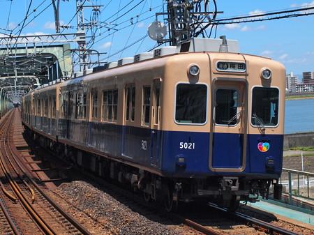 阪神5001形普通   阪神本線淀川駅01
