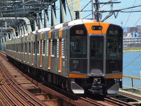 阪神1000系急行 阪神本線淀川駅