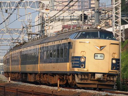 583系天理臨 東海道本線新子安~鶴見