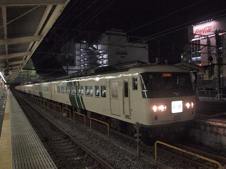 185系回送   東海道本線小田原駅01